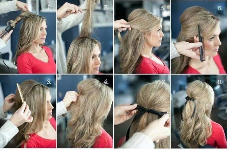 cintilla en el cabello