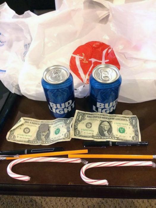 Cervezas y dinero