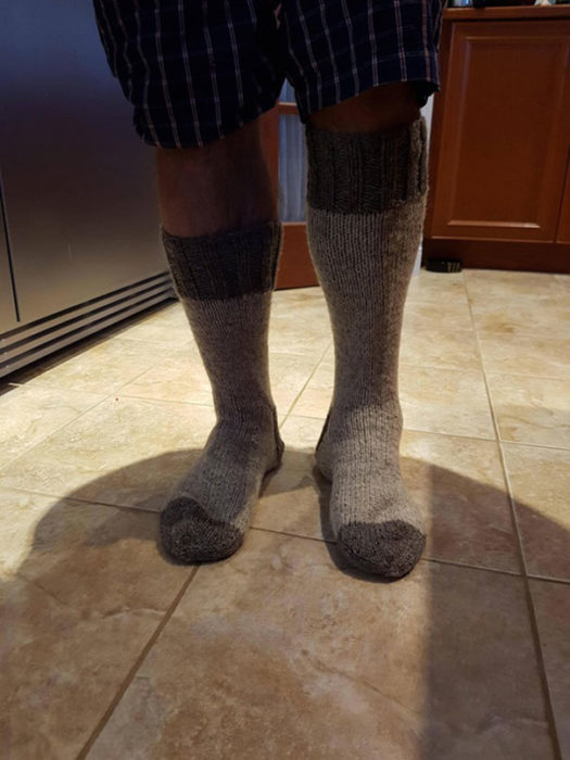 Calcetines deformes