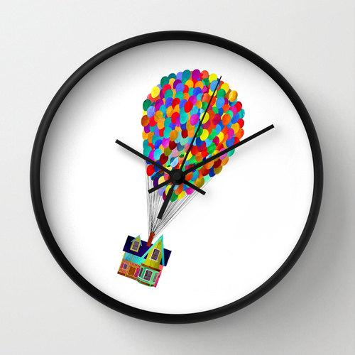 Reloj de pared de Up!