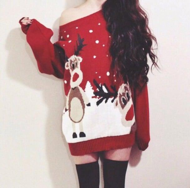Suéter de reno