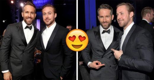 Todos nuestros sueños se han hecho realidad; ¡Ryan Golsing y Ryan Reynolds juntos!