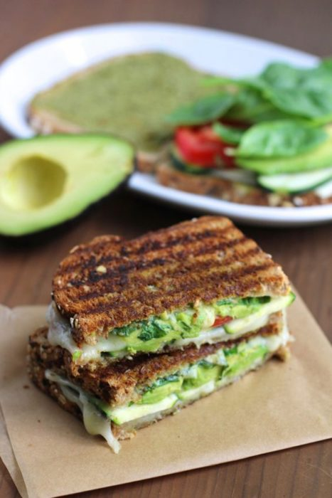 Sandwich de vegetales