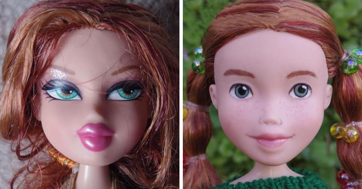 Tree Change Dolls: muestra la belleza natural de las muñecas