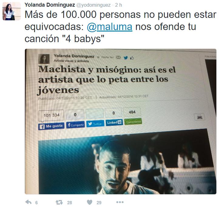 El nuevo sencillo de Maluma se vuelve viral por contenido misogino