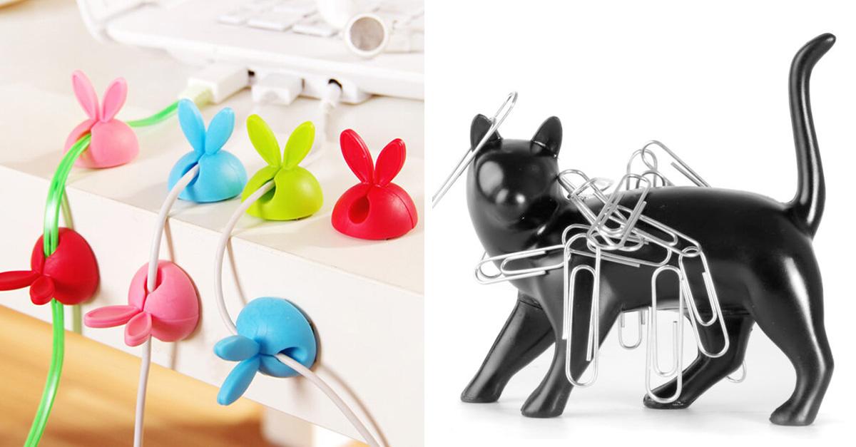 20 accesorios originales para personalizar tu oficina for Articulos para oficina