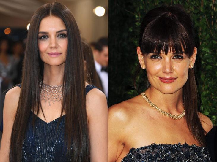 celebridad con un cambio de look