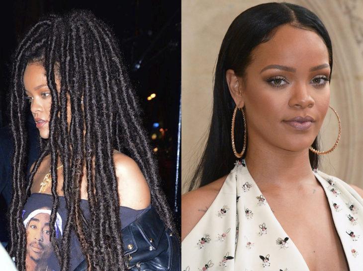 Rihanna con un cambio de look