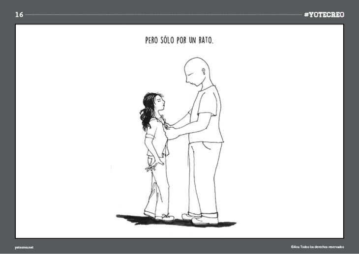 ilustración de mujer al lado de un hombre