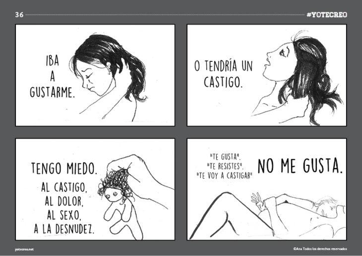 ilustración de mujer acostada llorando