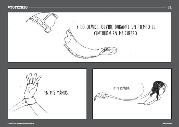 ilustración de cinto romiéndose y mano con cinto