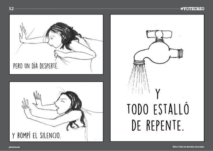 ilustración de mujer acostada con dolor