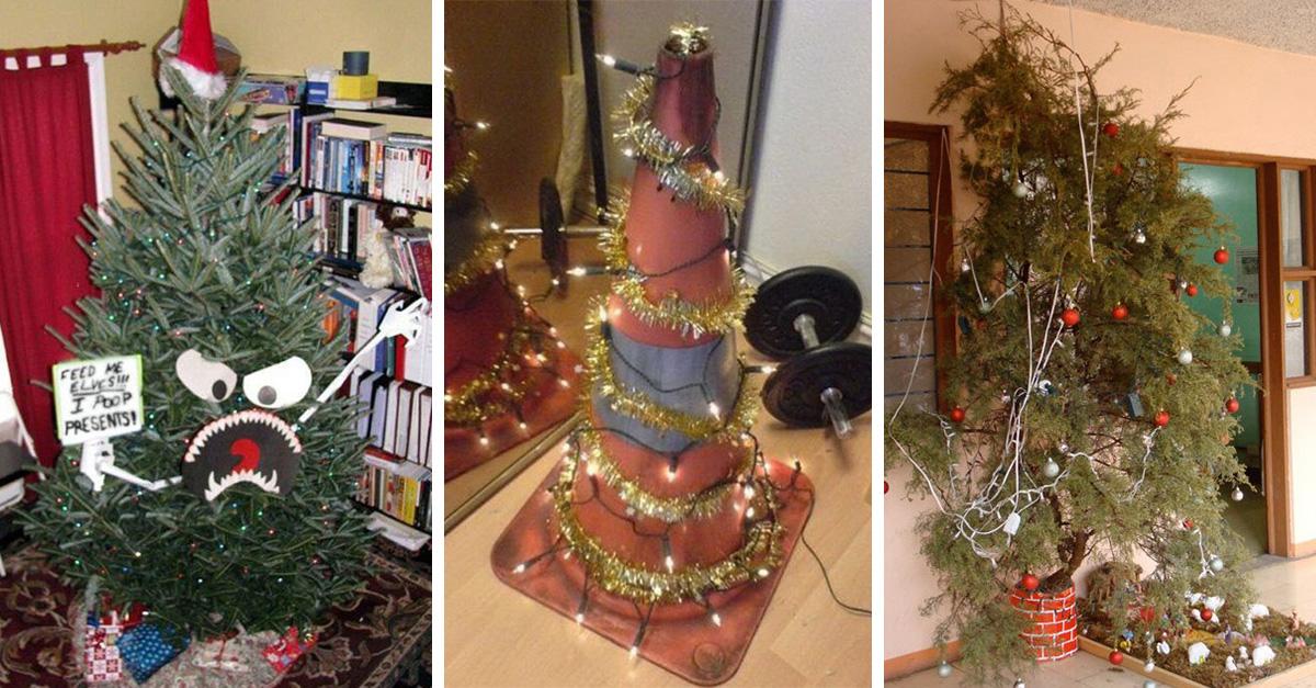 15 decoraciones tan desastrosas que te quitarán las ganas de celebrar navidad