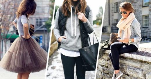 18 formas de combinar tus prendas de color gris