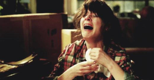 Las mujeres que lloran viendo películas son más fuertes