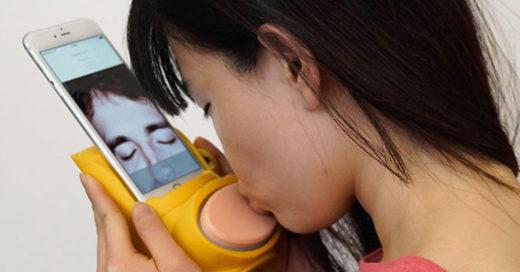 Conoce Kissenger, el nuevo dispositivo para besar a la distancia