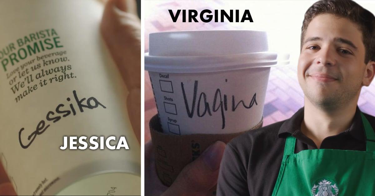 Esta es la verdadera razón por la que en Starbucks siempre escriben mal tu nombre