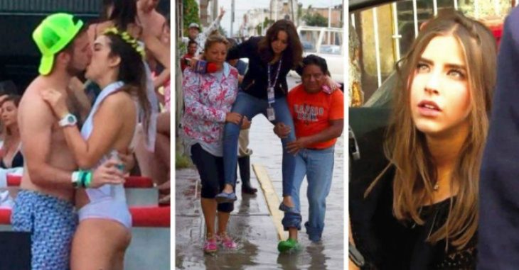 collage de mujeres ladies durante el 2016