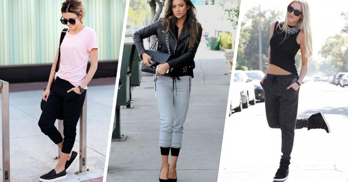 10 maneras de usar pants sin verte desarreglada