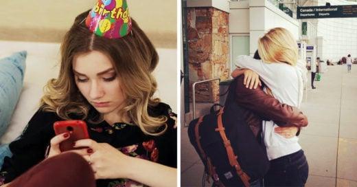 20 formas en las que tu vida cambia cuando tu mejor amiga vive lejos