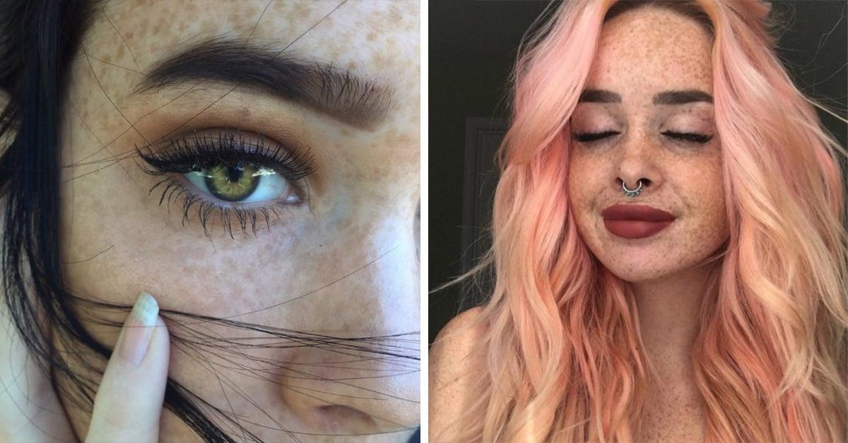 15 mujeres que te demostrarán que las pecas lucen hermosas en cualquier persona