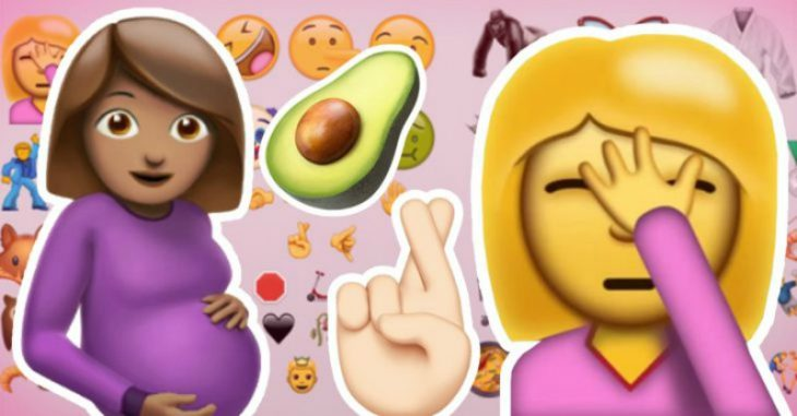 collage de emojis