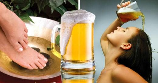 10 increíbles usos que puedes darle a la cerveza