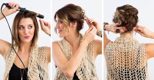 15 peinados para festejar navidad y año nuevo