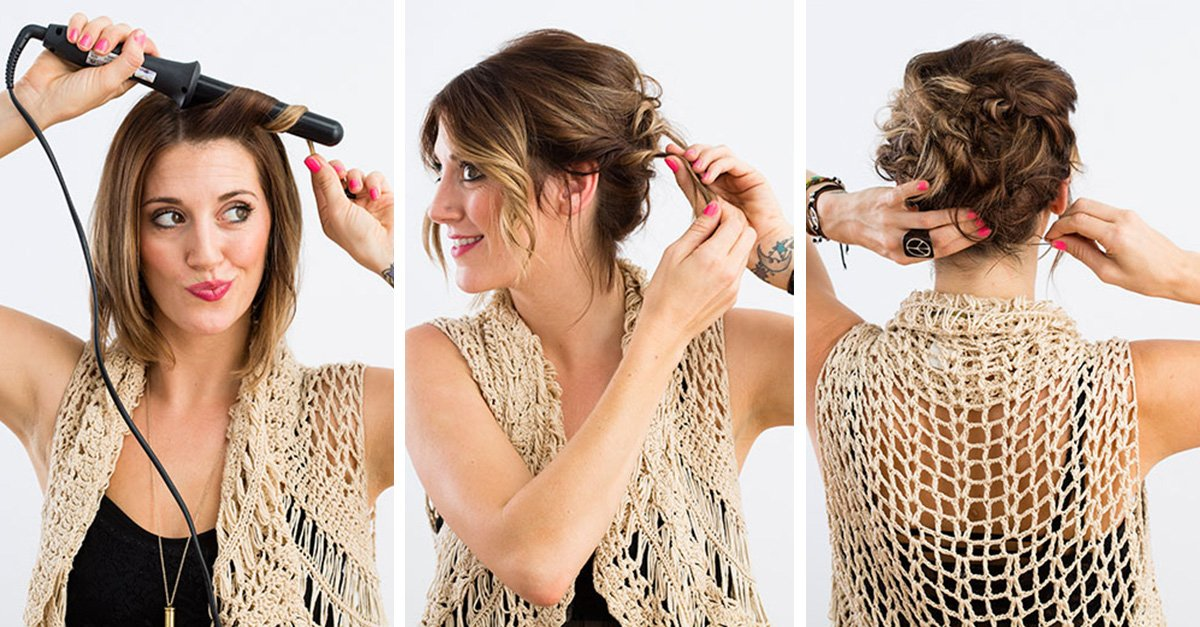 15 formas de arreglar tu cabello para las fiestas decembrinas - Peinados fiesta faciles ...