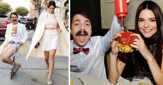 Este chico photoshopea las fotos de Kendall Jenner y el resultado es increíble
