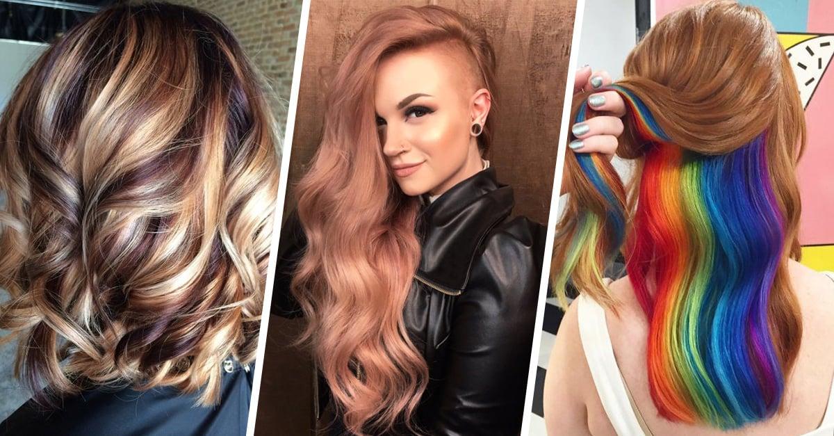 16 tendencias de color de cabello que amamos en 2016 for Color marmoleado para cabello