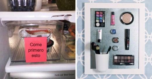 15 increíbles trucos que son todo lo que necesitas para un hogar más lindo y organizado