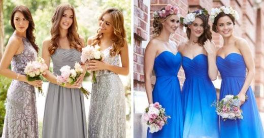 15 vestidos de dama de honor que te dejaran sin palabras