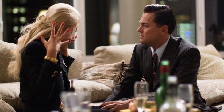Escena de la pelicula el Gran Gatsby