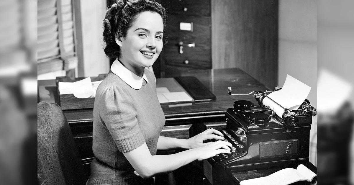 11 datos curiosos de las secretarias en los 50's