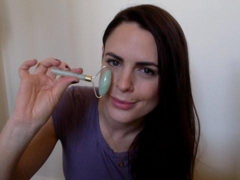 rodillo de jade para el rostro