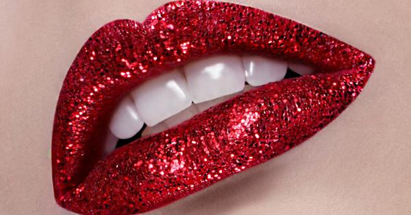 labiales con glitter