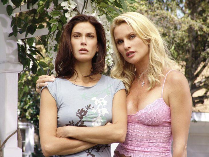 Nicollette Sheridan y Teri Hatcher