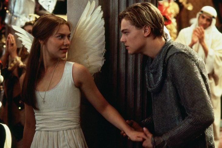Claires Danes y Leonardo DiCaprio