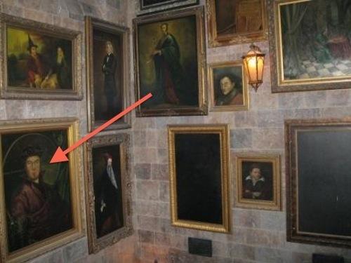 retratos Harry Potter