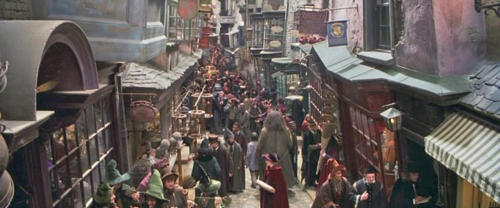 Callejin Diagon Harry Potter