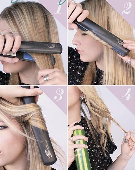 tutorial rizado de cabello