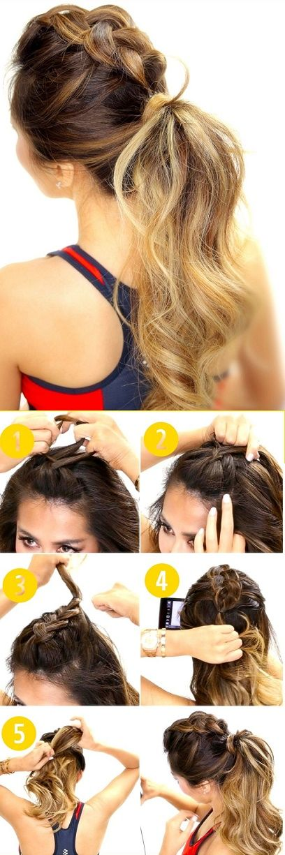 Peinados para pelo corto para hacer deporte