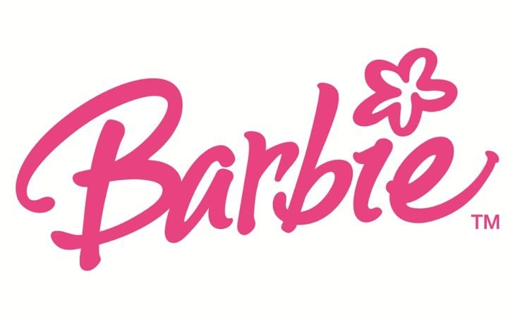 logotipo de barbie