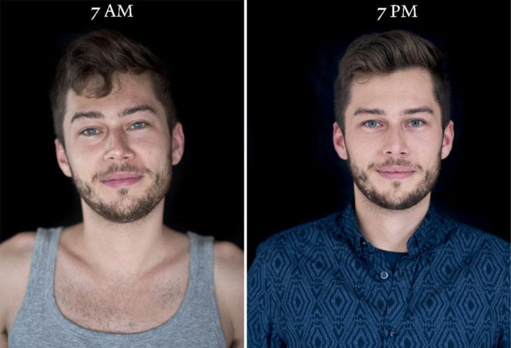 chico con barba cerrada