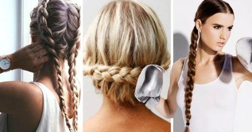 20 peinados originales para lucir en el gym