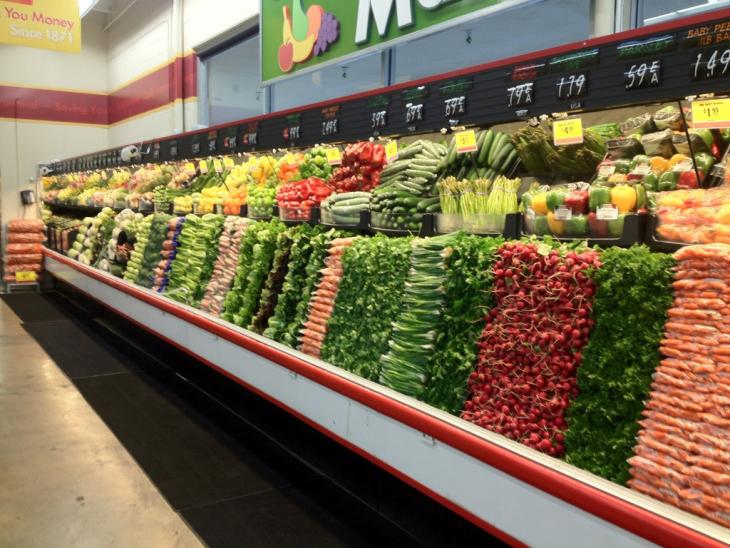 supermercado bien acomodado
