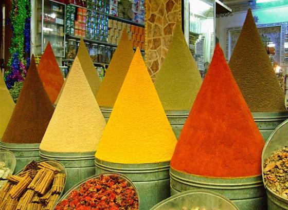 condimentos por colores