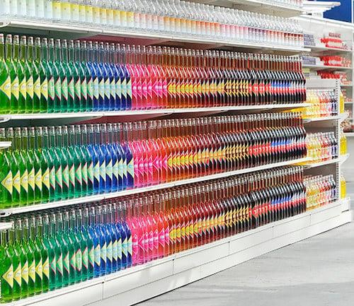 bebidas por colores