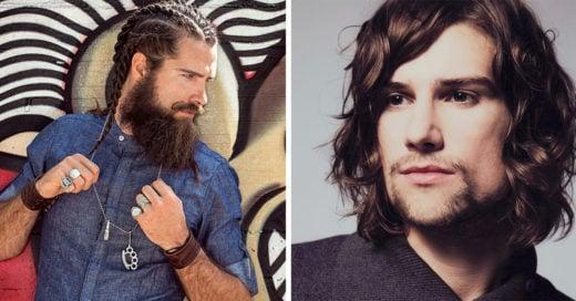 30 hombres con cabello largo que desearas tener